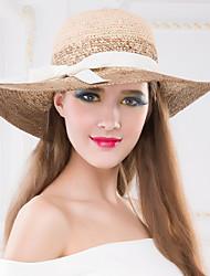 Femme Vannerie Casque-Occasion spéciale / Extérieur Chapeau 1 Pièce Head circumference Adjustable(53-58cm)
