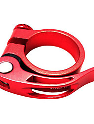 WEST BIKING® Seat Clamp 31.8 / 34.9mm Mountain Bike Tube Clamp Aluminum Quick Release Seat Tube Clamp