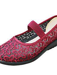 2015 Sandals Flats Summer New Fashion Mesh Sandals Woman Mother Shoes Light Casual Soft Women Shoes Cloth Flats Sandals