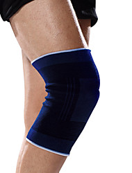 Ollas Unisex Outdoor Exercise A Pair Blue Elastic Fine Cotton Circular Knitting Knee/Legs Protector Free Size S9415