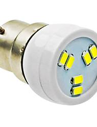 b22 2W 6LED 5730smd 90-120lm 6000-7500k AC220-240V Rampenlicht weiß - weiß silber