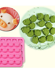 16 Cute Pig Oink Silicone Cake Mould Baking Chocolate Ice Cube Tray