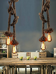 Pendant Lights Bulb Included  2 Lights Industrial wind restoring ancient ways is the cafe bar counter creative droplight