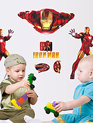 Cool Iron Man The Avengers PVC Wall Sticker Wall Decals