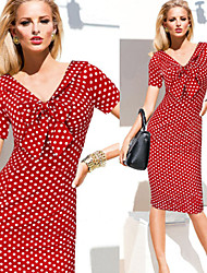 VICONE Women's Sexy/Bodycon/Cute/Party/Work Short Sleeve Pencil  Dresses