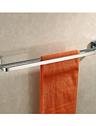Luxury Double Towel Bar Bath Towel Rail For Bathroom Towel Rack Solid Brass Copper Chrome Bathroom Accessories
