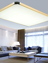 64W Flush Mounte LED Light Modern  Aluminum Sitting Room Bedroom Lamp Rectangle Iphone 5  Shape  with Light Ajustable