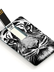 64GB The Tiger Stare At You Design Card USB Flash Drive