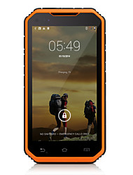 "Digoor DG2 Plus with 5""inch Android 4.4 3G Smartphone with Walkie-talkie.(Dual SIM,IP68 ,3-Proof,RAM1GB,ROM8GB,2 Camera)"