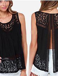 CNB     Women's Sexy/Casual/Lace Vests (Chiffon)