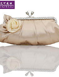 AIKEWEILI®Women's Purse Fashion Silk Flower Clutch Bag Korean Style All-Match Shoulder Bag Wedding Party Bags