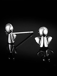 2015 New Design Cute/Party/Casual Sterling Silver Stud Earrings Gift for lovers