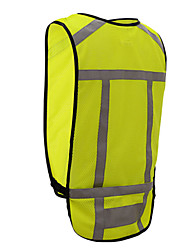 Bike/Cycling Vest/Gilet / Jersey / Tops Unisex Sleeveless Breathable / Lightweight Materials / Reflective Strips Mesh Stripe M / LCamping