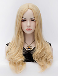 European Style Fashion Hair Blonde High Quality Synthetic Wigs
