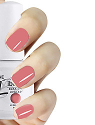 LIBEINE 1pc Soak Off 15 ML UV Gel Nail Polish Color Gel Polish 015# Loves Me Pink