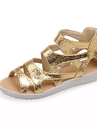 Women's Shoes Wedge Heel Wedges/Slingback Sandals Dress Silver/Gold