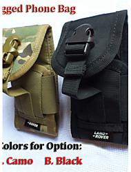 Outdoor Hook Loop Belt Pouch Holster bag for Rugged phones for A8 A9 Hummer H5 MANN ZUG3 V12