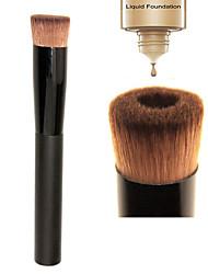 M0245 1PCS Professional Soft Perfecting Face Brush Foundation Brush Blend Flat Concave Makeup Tool