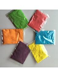 la couleur terme Holi poudre 50 g par sacs