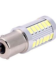 1156 BA15S P21W S25 15w 1480lm 33led 6500-7500k 5730 bulbo sinal lâmpada carro SMD auto viragem luz de neblina 12-24V branco