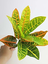 "13"" High Quality Artificial Leaf Colorful leaf 1 pcs"