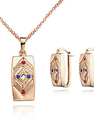 BIO Women's Earrings Necklace Set