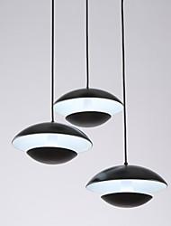 Luzes Pingente ,  Contemprâneo Tradicional/Clássico Tifani Bateria Esfera Tigela Pintura Característica for Estilo Mini MetalSala de