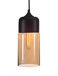 WestMenLights Elegant Bottle Shade DIY Ceiling Lamp Glass Pendant Lighting Edison Bulb Home Bar Club