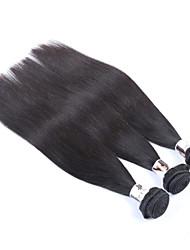 "3Pcs/Lot+8""-34""+Peruvian (Italian)Virgin Hair+ color(natural black)+Straight"