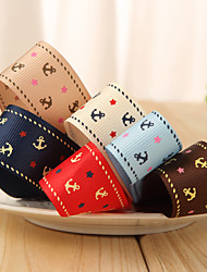 2M Gorgeous Printed Polyester Grosgrain Ribbon (More Colors)