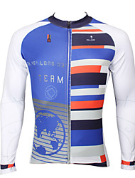 PaladinSport Men's Long Sleeve Cycling Jersey New Style CX388 Coordinate 100% Polyester