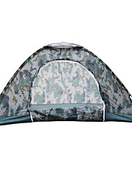 Double the 07-man field digital camouflage tent camping survival outdoor camping tent single lightweight camouflage
