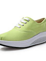 Zapatos de mujer - Tacón Cuña - Cuñas / Plataforma / Zapatos de Cuna - Zapatos de Deporte - Exterior / Oficina y Trabajo / Casual - Tela -