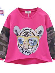 Waboats Winter Kids Girls Boys Tiger Printed Long Sleeve Top