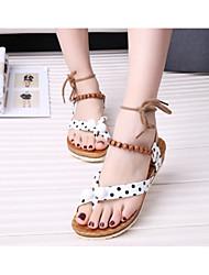 Damenschuhe Lackleder Plateau Passende Schuhe & Taschen Sandalen/Pumps / High Heels/Stiefel Lässig Schwarz/Rot/Weiß
