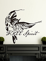 Wall Stickers Wall Decals, Modern Personalized hand-painted birds fly PVC Wall Stickers