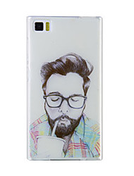 New Fashion Phone Case XIAOMI Mi3 Case Mi3 Design of Coloured Drawing or Pattern Tpu Material of Back Cover