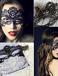 Accesorios del partido Accesorios para Disfraz Navidad/Halloween/Fiesta de baile Tema Fantástico Blanco/Negro #