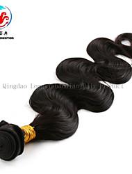 """22 """"prezzo squisita fabbrica di alta qualità dei capelli umani colore naturale originale onda del corpo tessuto vergine dei capelli"""