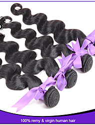7A hair products indian virgin hair body wave 3pc lot human hair extensions indian virgin remy hair