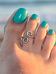 Good Luck of Style Ancient  Ring Of Feet