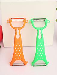 4PCS Kitchen Gadgets Fruit & Vegetable Peeler Random Color