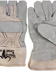 Luvas de soldadura de couro Hanshou 26 centímetros