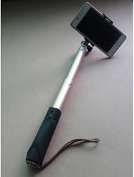 luxuy todo-en-uno extensible bluetooth de aluminio monopie palo selfie para sumsang iphone