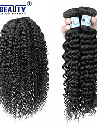 "3 Pcs /Lot 8""-30"" 5A Brazilian Virgin Deep Wave Hair Extensions 100% Unprocessed Virgin Human Hair Weaves"