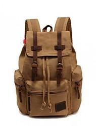 hombres / mochila de lona de la vendimia del bolso de escuela de la taleguilla mochila de senderismo de las mujeres