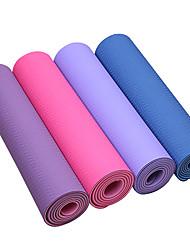 Extra Thick Slip Resistant Eco-Friendly Tpe Yoga Pilates Mat (6mm)