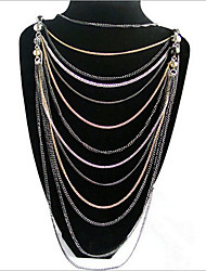 New Arrival Fashional Hot Selling Muti-layer Chain Necklace