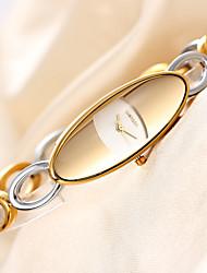 weiqin®silver золотой браслет полые полосы женские часы Weiqin бренд моды роскошь qaurtz смотреть женщина шок наручные часы