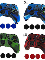Camouflage Silicone Skin Protective Case Cover for Xbox one Controller